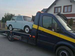 autolaweta samochodu gdańsk